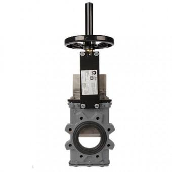 Шиберный затвор CMO, серия GL стандартного давления, двунаправленного типа, DN250, PN10 (GsC-HW-NR)