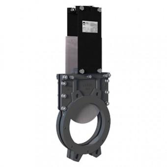 Задвижка шиберная CMO DN150 PN10 - UB-02-0150-PN10-ISO-E